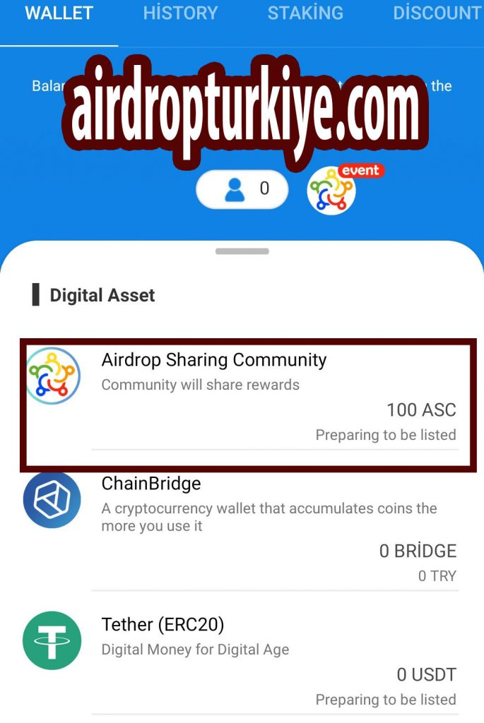 anawallet-685x1024 ChainBridge Wallet ASC Airdrop Fırsatı