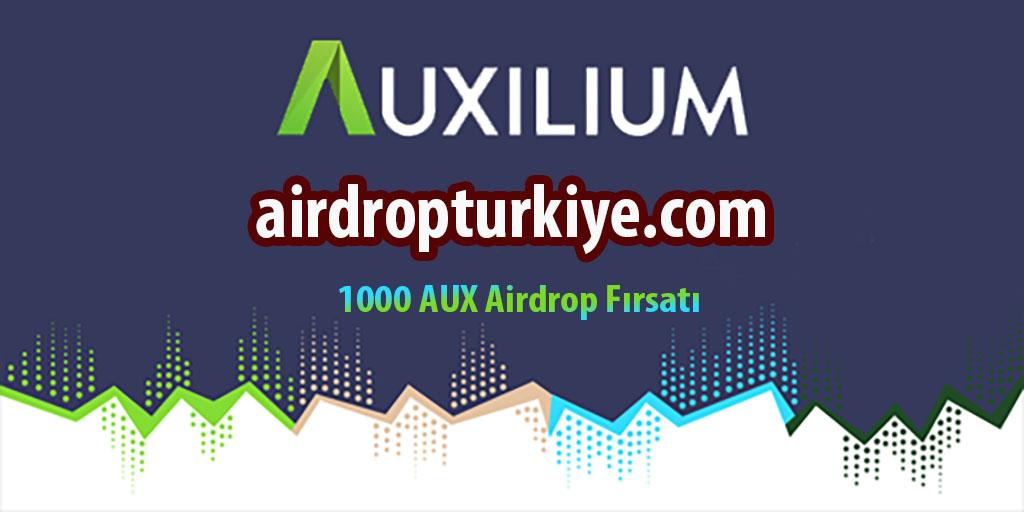 auxtoken Auxilium AUX Airdrop Fırsatı