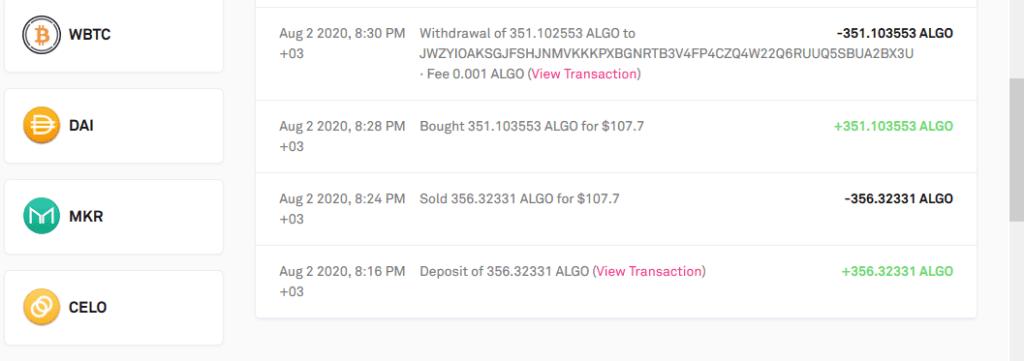 coinlist-algo-1024x361 Coinlist Borsası Airdrop 10$ BTC + 5$ OXT