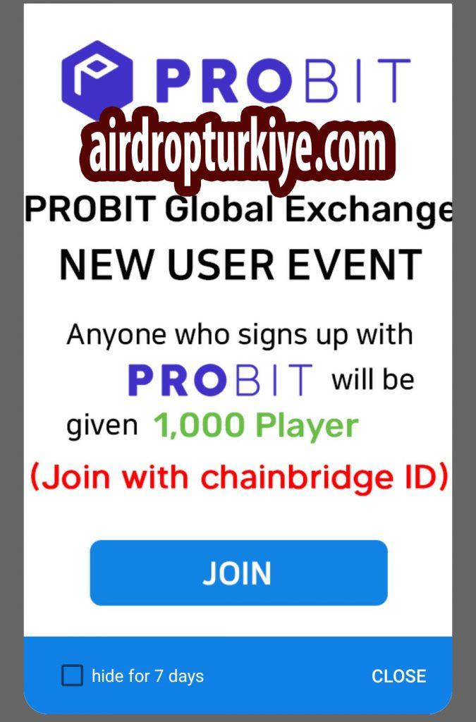 probit-675x1024 ChainBridge Wallet ASC Airdrop Fırsatı