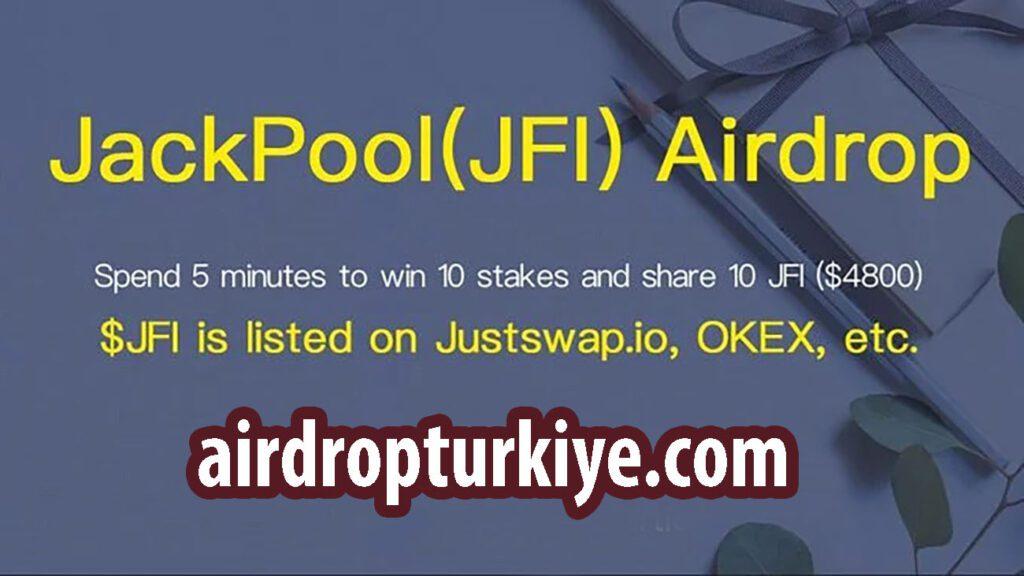 jackpool2-1024x576 JackPool JFI Coin Airdrop Fırsatı