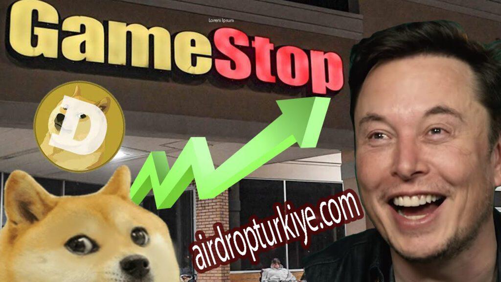 dogecoingamestopairdropturkiye-1024x576 GameStop, Dogecoin ve Bitcoin Neden Yükseldi ?