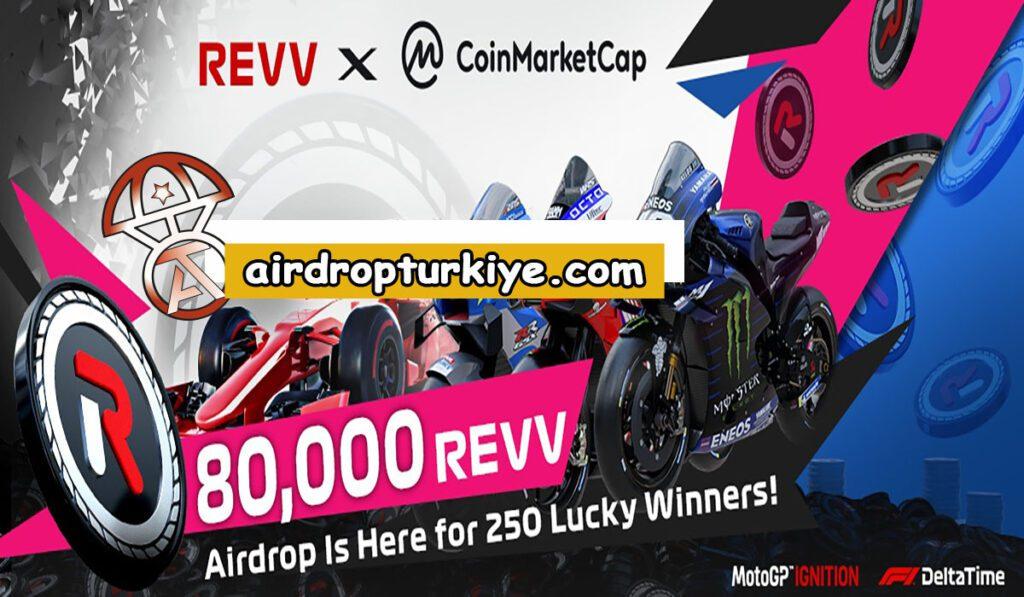 Revvcoin-1024x597 Coinmarketcap REVV Airdrop Fırsatı
