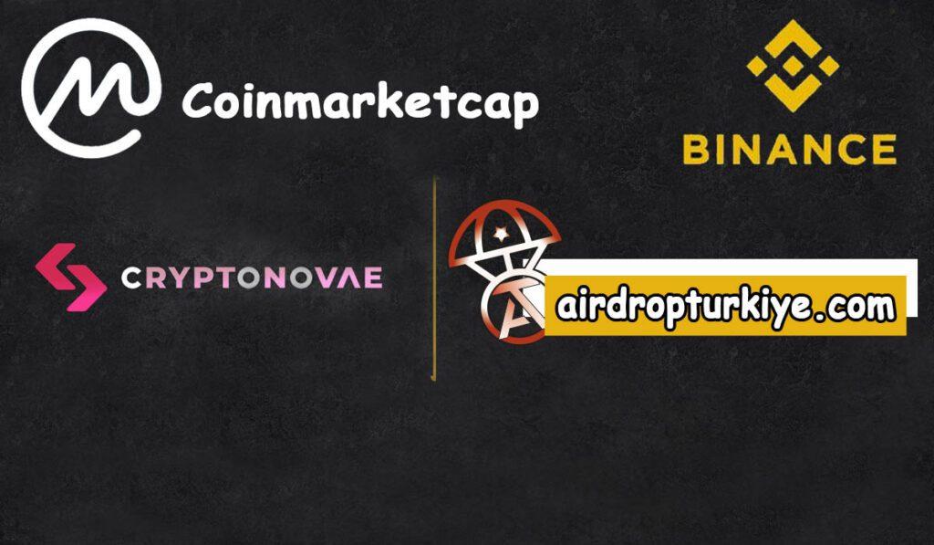 cryptonovae-airdrop-1024x597 Coinmarketcap Crypto Novae Airdrop Fırsatı
