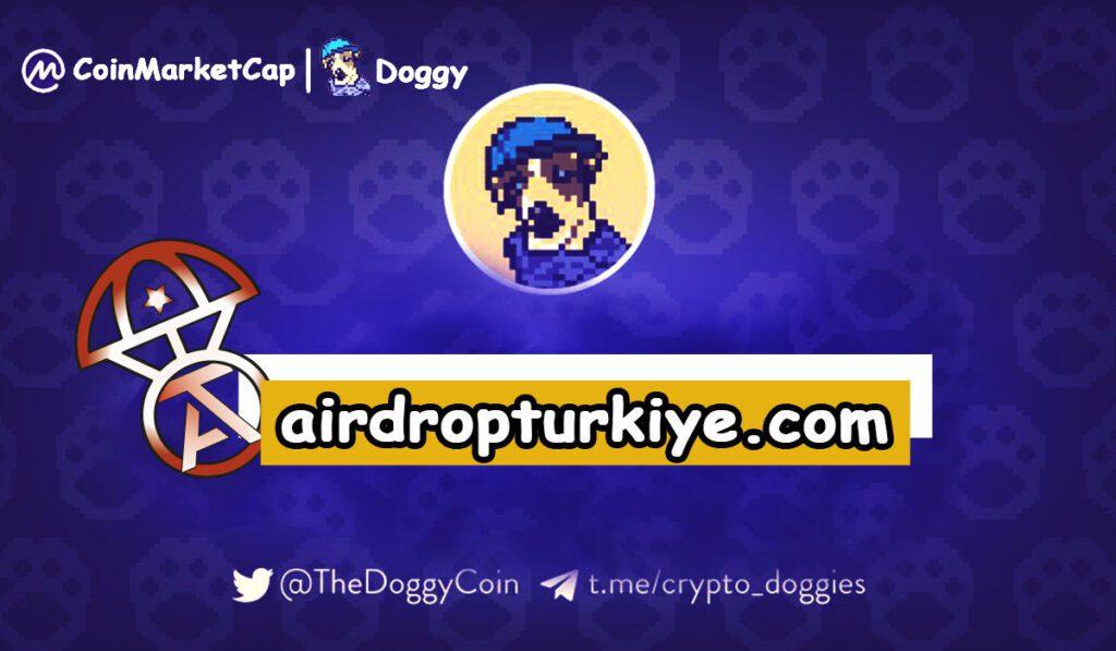 doggyairdropturkiye-1024x597 Coinmarketcap DOGGY Airdrop Fırsatı