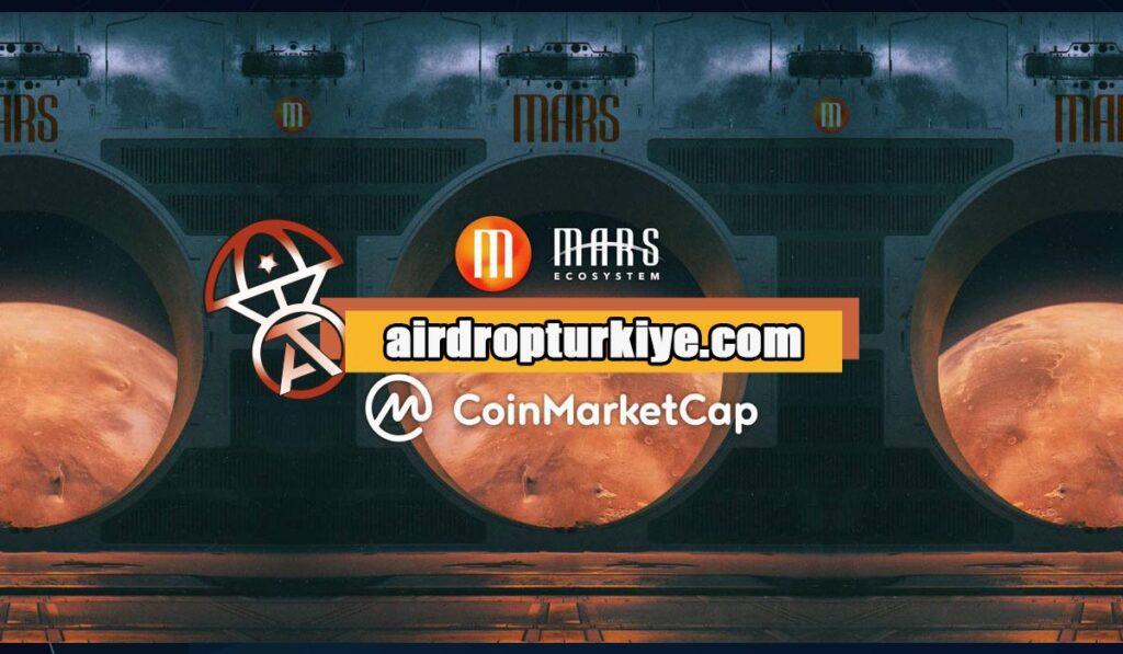Xms-airdropfirsati-1024x597 Coinmarketcap Mars Ecosytem (XMS) Airdrop Fısatı