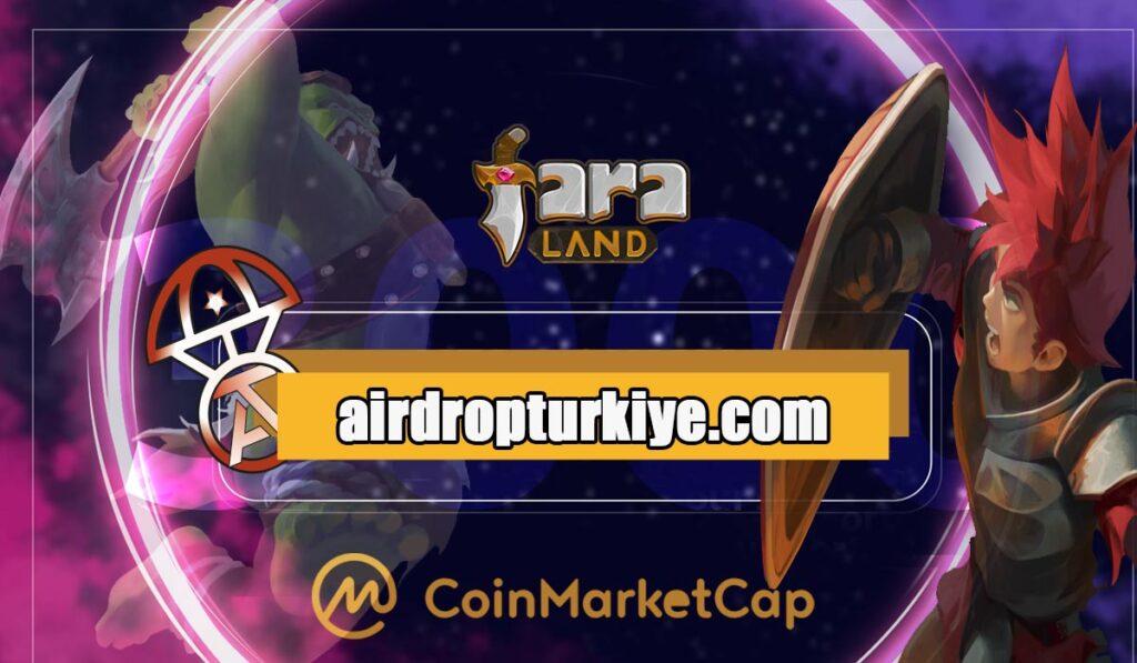 faralandairdrop-1024x597 Coinmarketcap FaraLand Airdrop Fırsatı