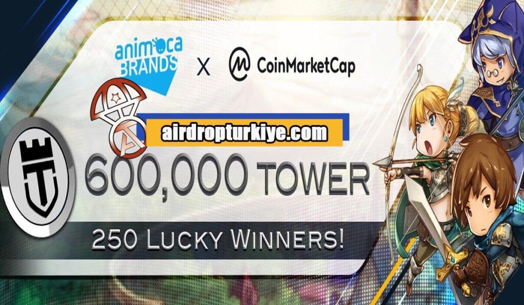 towerairdrop-1024x597 Coinmarketcap Tower Airdrop Fısatı