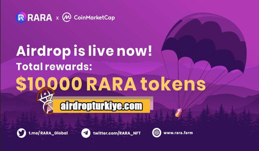 Rara-1024x597 Coinmarketcap RARA Airdrop Fırsatı
