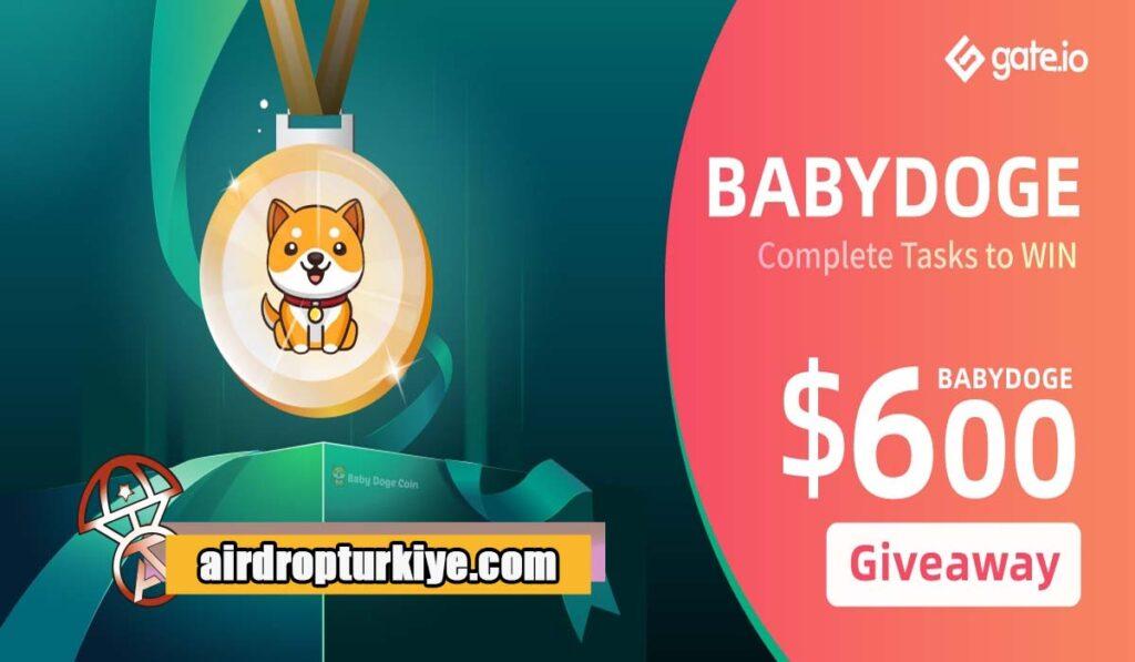 babydoge-1024x597 Gate io BabyDoge Airdrop Fırsatı