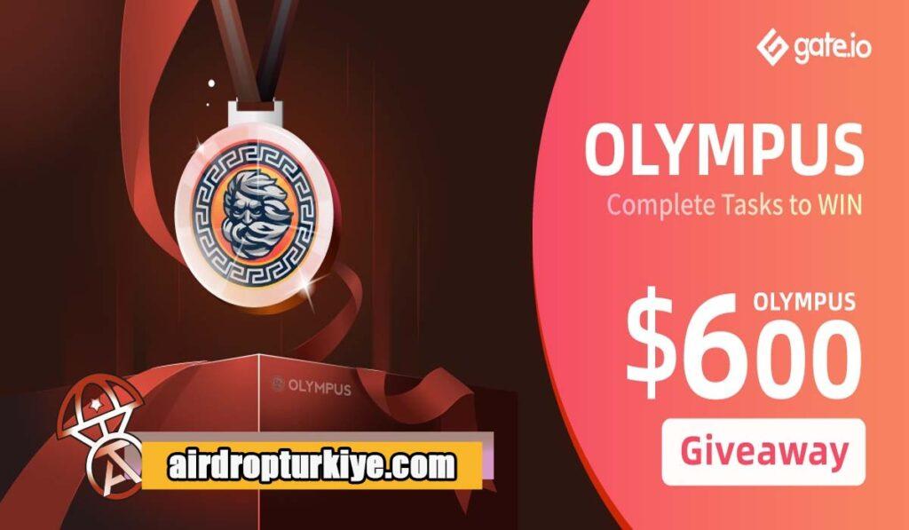 olympus-coin-1024x597 Gate io OLYMPUS Airdrop Fırsatı