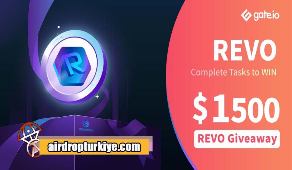 REVO-1024x597 Gate io REVO Airdrop Fırsatı