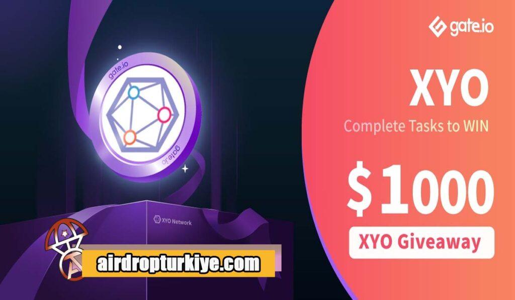 XYO-1024x597 Gate io XYO Airdrop Fırsatı