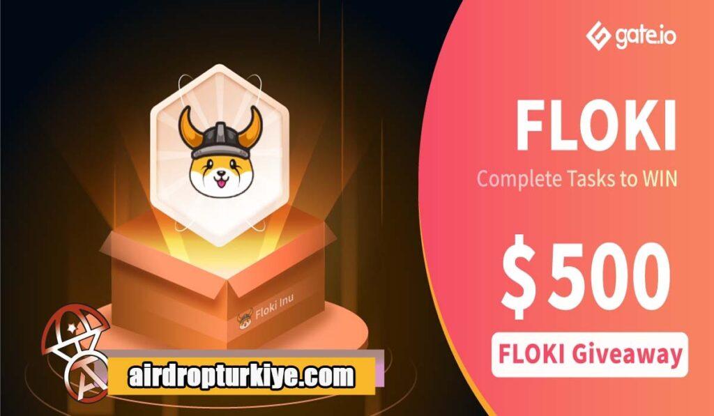FLOKI-1024x597 Gate io FLOKI Airdrop Fırsatı